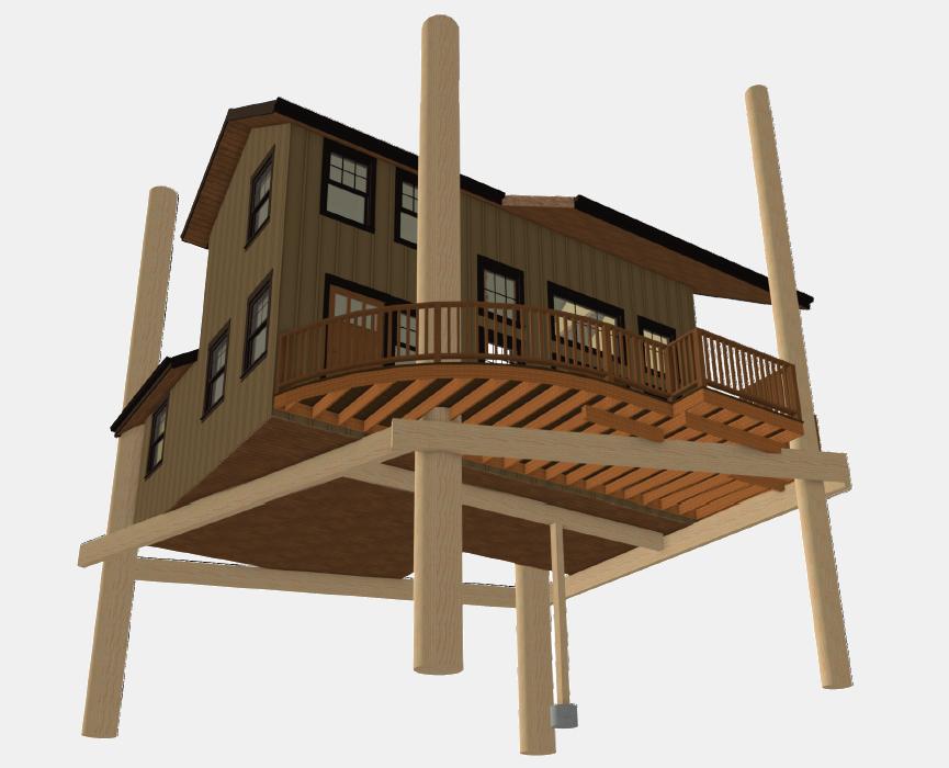 Wood Tree House, USA